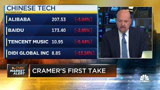 Jim Cramer sobre a repressão tecnológica da China: você não pode ter ações chinesas