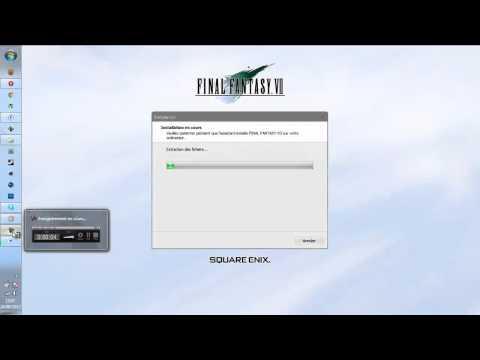 comment installer ff7 pc
