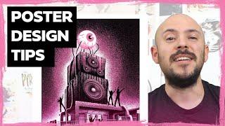Illustration Review #2 - Poster Design Tips