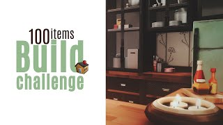 100 предметов   Build challenge   THE SIMS 4