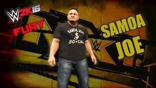 WWE 2K16 Fury | Samoa Joe (Promo)
