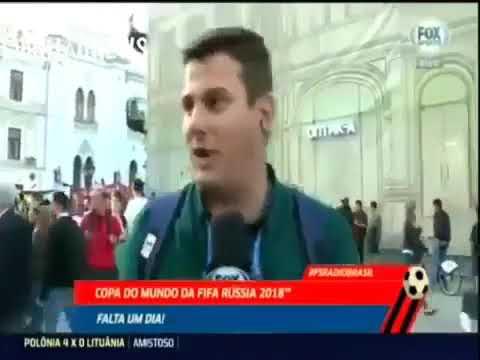 """Бенжамин! Бенжамин! Бенжамин!"" Репортаж бразильского корреспондента!"