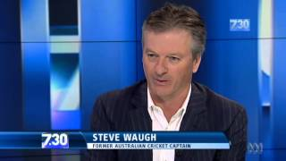 Steve Waugh on leadership, loyalty and luck