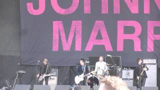 Johnny Marr - The Right Thing Right - Finsbury Park - 8th June 2013