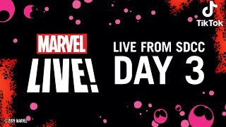 Marvel LIVE from SDCC 2019! | Day 3