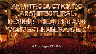 AV PP BULLET Architectural Design: Theatres And Concert Halls Vol 2