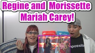 Gambar cover MOM & SON REACTION! Regine Morissette Mariah Carey (Raw)