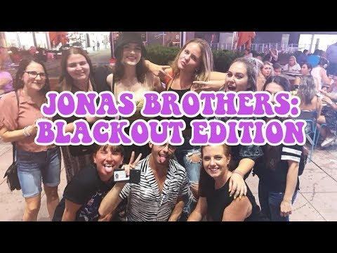 WE BLACKED OUT AT THE JONAS BROTHERS | JONAS BROTHERS HAPPINESS BEGINS TOUR VLOG 6
