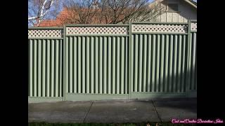 Metal Fence Design Ideas