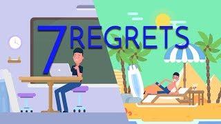 7 Regrets of my 20's