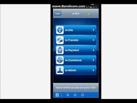 Cara beli token listrik via Bca Mobile