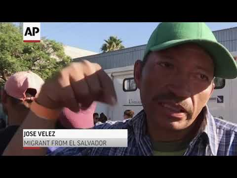 Migrants from different central american countries talk about their options amid a growing feeling that they had little hope of making successful asylum bids in the United States or of crossing the border. (Nov 27)