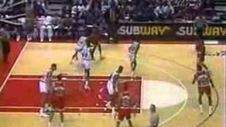 Bulls @ Bullets 1992 - Jordan 51pts, 11rbs