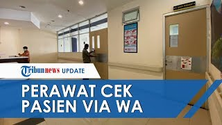 Tak Miliki Stok APD yang Cukup, Perawat di Kediri Cek Kondisi Pasien Covid-19 Via Grup WhatsApp