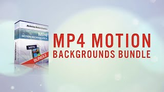 MP4 Motion Backgrounds Bundle for Explaindio