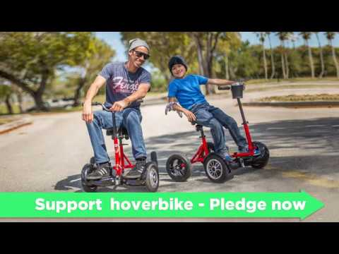 HoverBike - Hoverboard + Bike... Available now on KickStarter