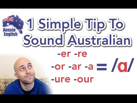 1 Simple Tip To Sound Australian: /ɑ/ | Aussie Accent | Learn Australian English