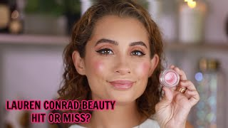 Trying Lauren Conrad Beauty for the first time!!!
