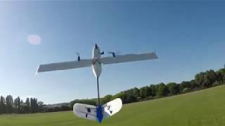 Long Range FPV Plane V2 0 LOS Aerobatics + hand catch