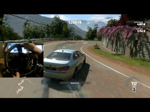 DriveClub W/T300RS GoPro First Wheel Impressions Racing/Drifting | SLAPTrain