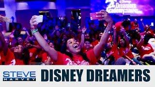 Behind the Scenes: Disney Dreamers Academy || STEVE HARVEY