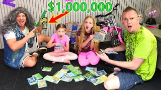 Homeless Dave Wins $1,000,000 on Lottery Ticket!!!