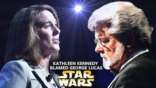 Kathleen Kennedy Just Blamed George Lucas! This Goes Too Far (Star Wars Explained)