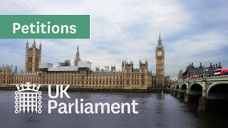 E-petition relating to arrangements for UK touring professionals in the EU - 8 February 2021