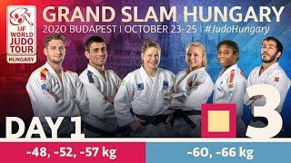 Grand Slam Hungary 2020 - Day 1: Tatami 3