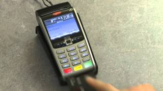 How to complete a Chip & PIN Sale on your Ingenico Portable iWL250 terminal