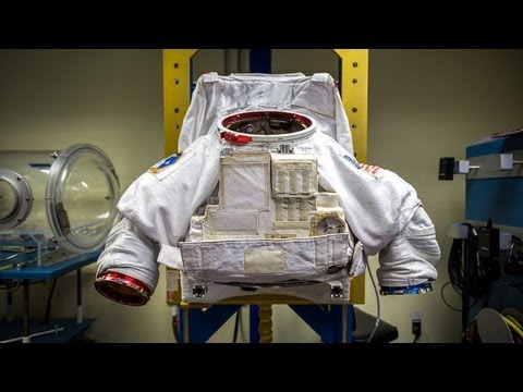 How To Put On A Space Suit