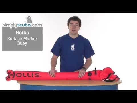 Hollis Surface Marker Buoy – www.simplyscuba.com