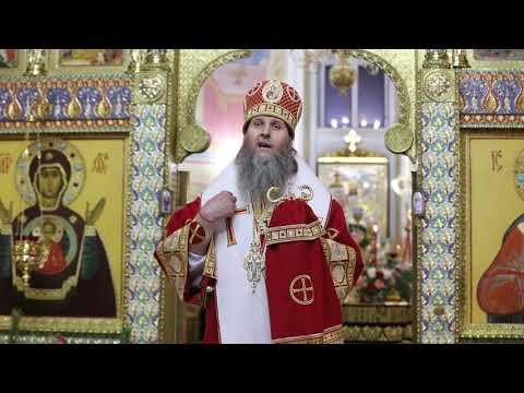 Слово митрополита Даниила после Пасхального богослужения