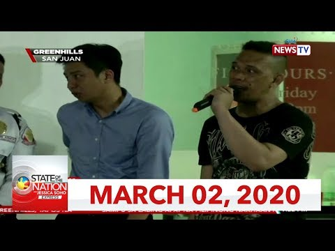 [GMA]  State of the Nation with Jessica Soho Express: March 2, 2020 [HD]