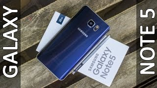 Смартфон Samsung N9200 Galaxy Note 5 Dual 32GB (Gold Platinum) от компании Cthp - видео 1
