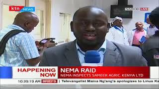 NEMA makes an impromptu raid at Sameer Industrial park for allegedly discharging effluent
