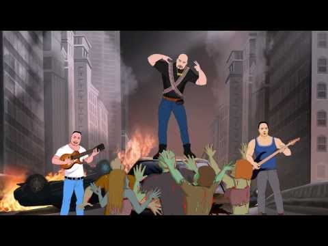 """ZOMBIE KILLER NYC"" CLUB MIX (ZOMBIE APOCALYPSE, N.Y.C.) ANIMATED VIDEO"