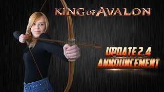 KoA - Update 2.4 by Lady of Avalon