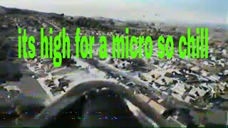 Rc fpv radian high altitude flight