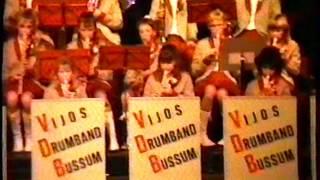 ViJoS Drumband Spant 6 februari 1988 30 jarig jubileum