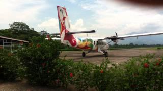 preview picture of video 'La Fortuna Airport  & Arenal Volcano - Costa Rica -'