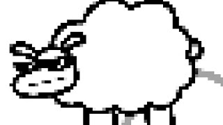 """Beep Beep I'm a Sheep but every """"Beep"""" and """"Meow"""" causes the video to get more pixelated"""