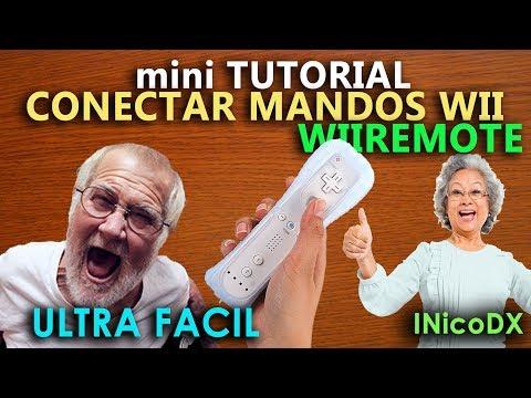 mini Tutorial: Como conectar mandos wii remote nuevos (joysticks de Nintendo wii)
