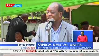 Vihiga county commissions 3 new dental units
