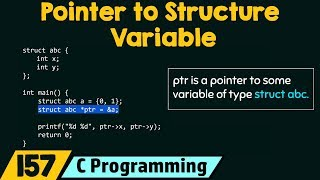 Pointer to Structure Variable