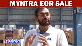 Myntra Warehouses Gets Ready For EORS Rush- Ananth Narayanan