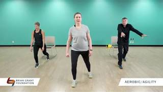 Parkinson's Exercise: Aerobics and Agility (20 Minutes)