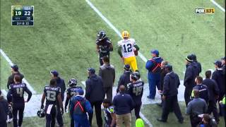NFL 2015 Packers vs Seahawks 540p HDTV Conference Finals Comeback 4:50 Left