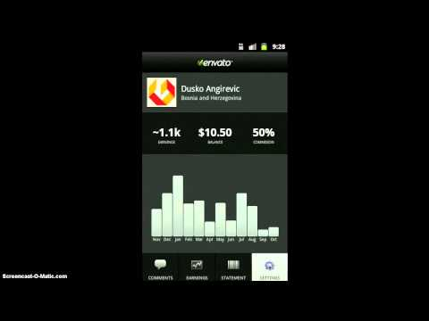 Video of nWallet powered by Envato API