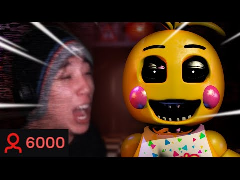 FNAF 2 but 6000 viewers ruin it